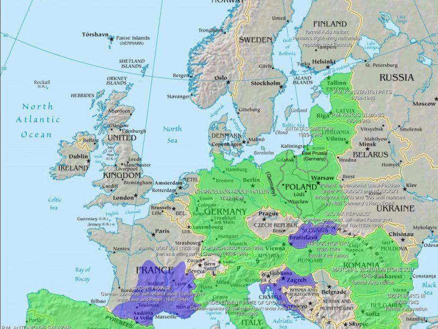 Bản đồ châu Á và những điều cần biết