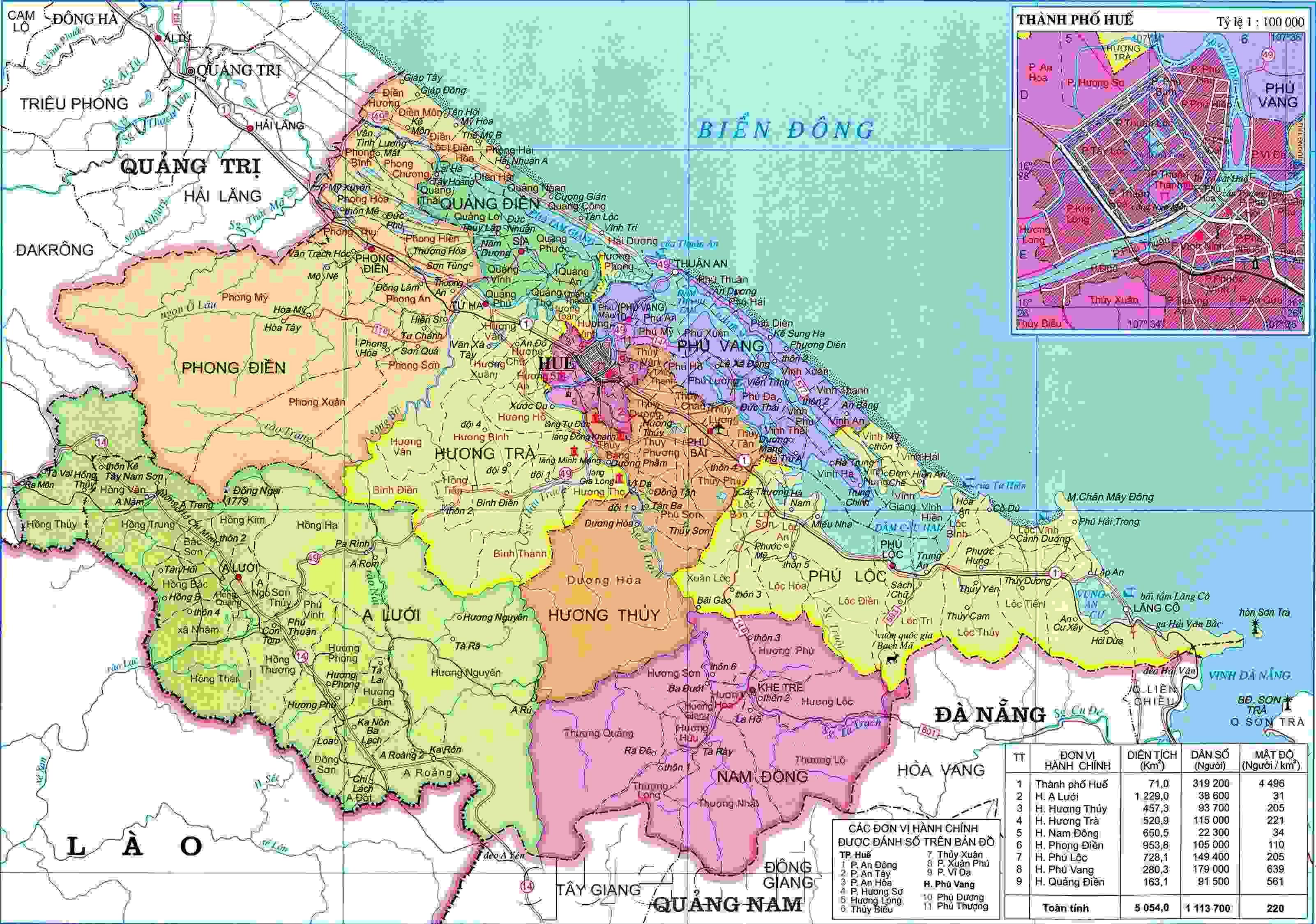 Image result for bản đồ giao thông thành phố huế