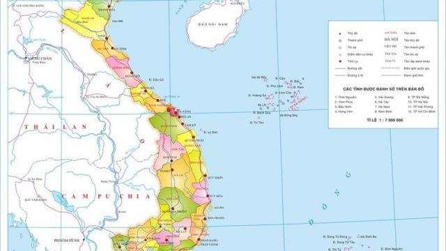 Bản đồ miền Trung