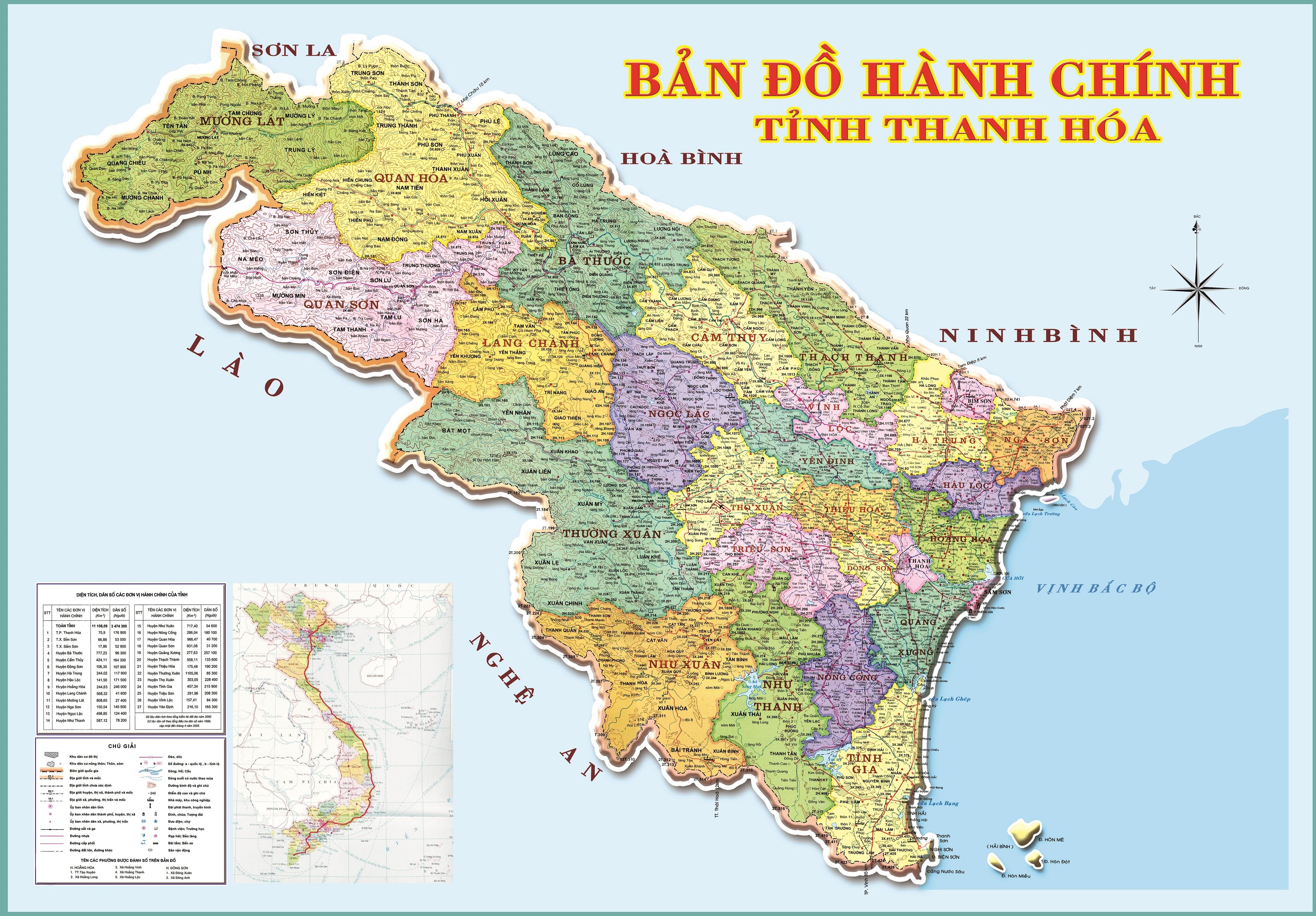 Image result for bản đồ Thanh Hóa