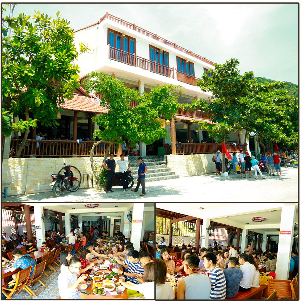 Nhà hàng 3 sao sang trọng bậc nhất Cù Lao Chàm