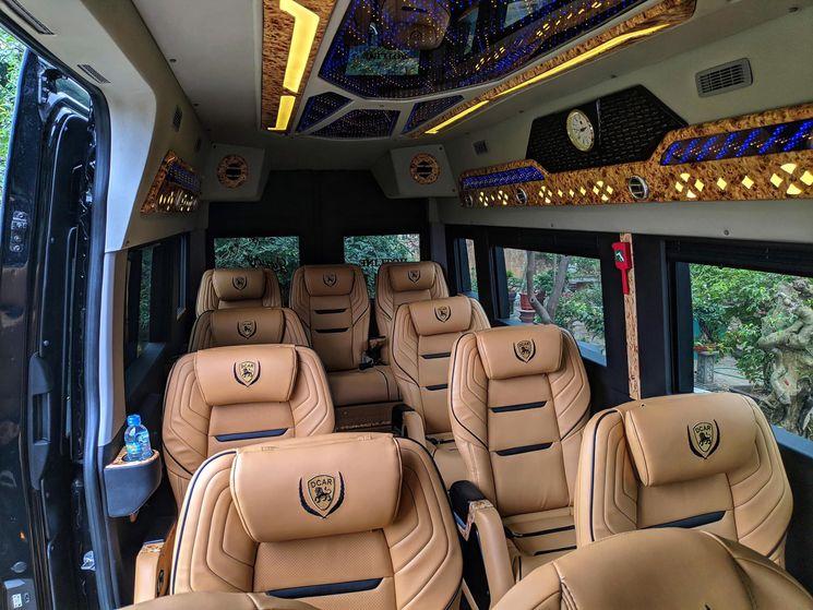 Xe Luxury Van Limousine – Giá vé, số điện thoại, lịch trình | VeXeRe.com